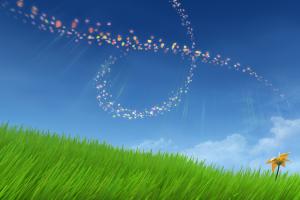 flower game background