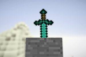 foam minecraft sword