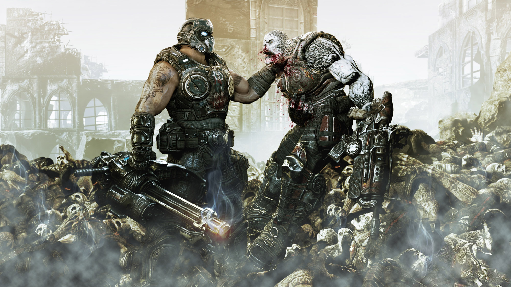 gears of war A4