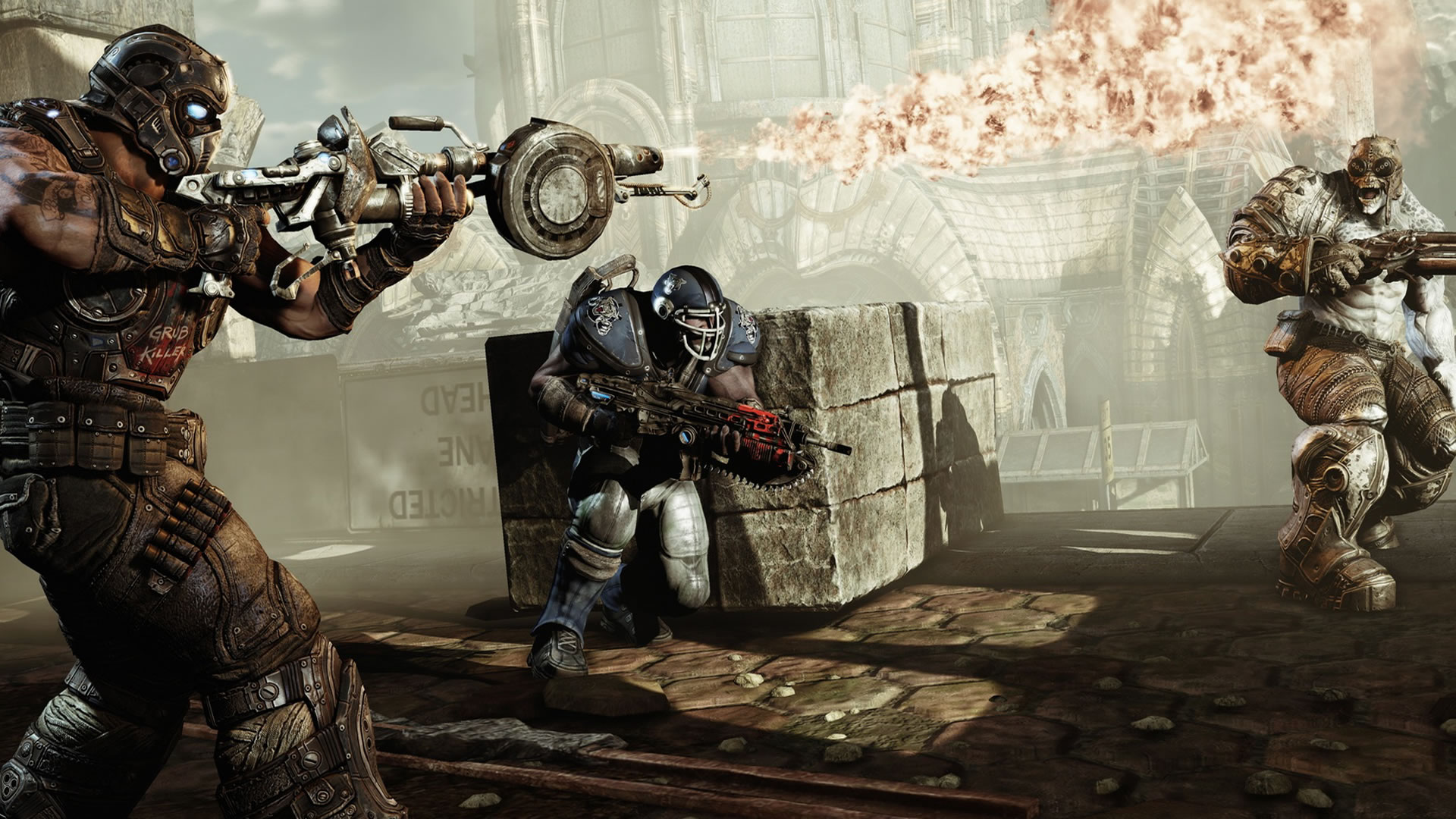 gears of war backgrounds A2