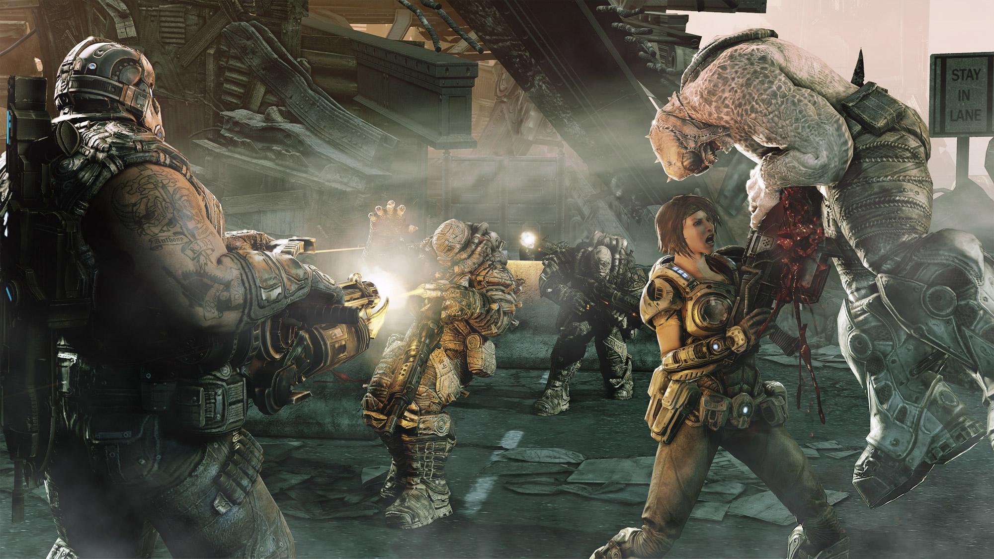 gears of war game A5