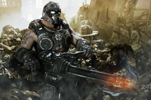 gears of war minigun