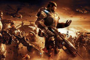 gears of war wallpaper A4