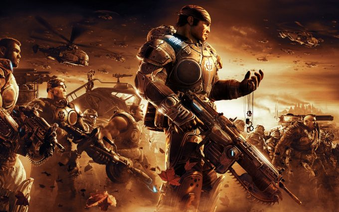 gears of war wallpaper A4