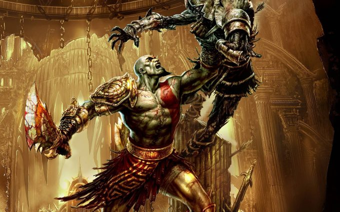 god of war game wallpapers