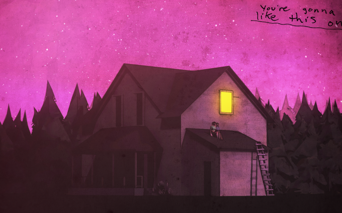 gone home backgrounds