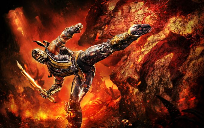images of scorpion from mortal kombat