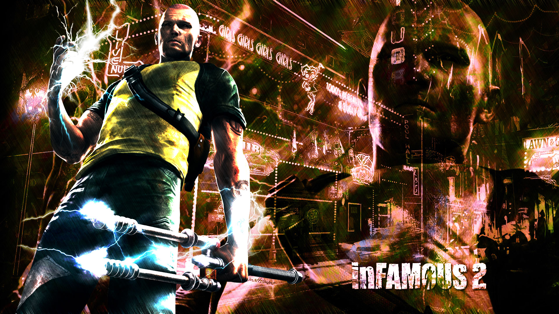 infamous 2 pictures