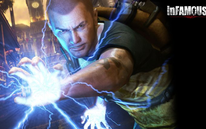infamous 2 wallpaper A2