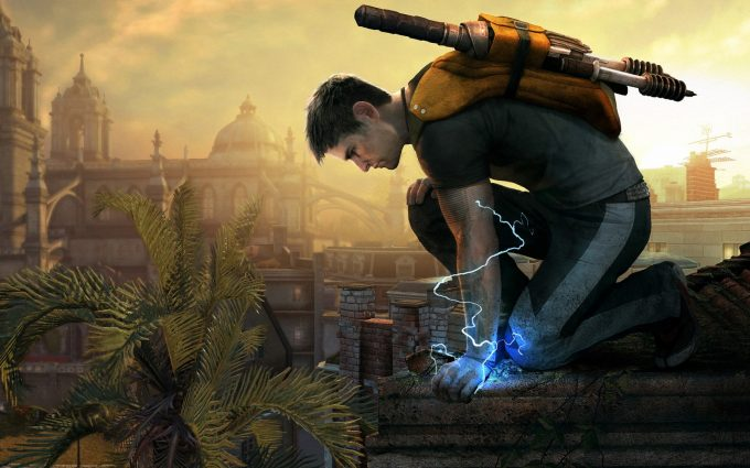 infamous 2 wallpapers