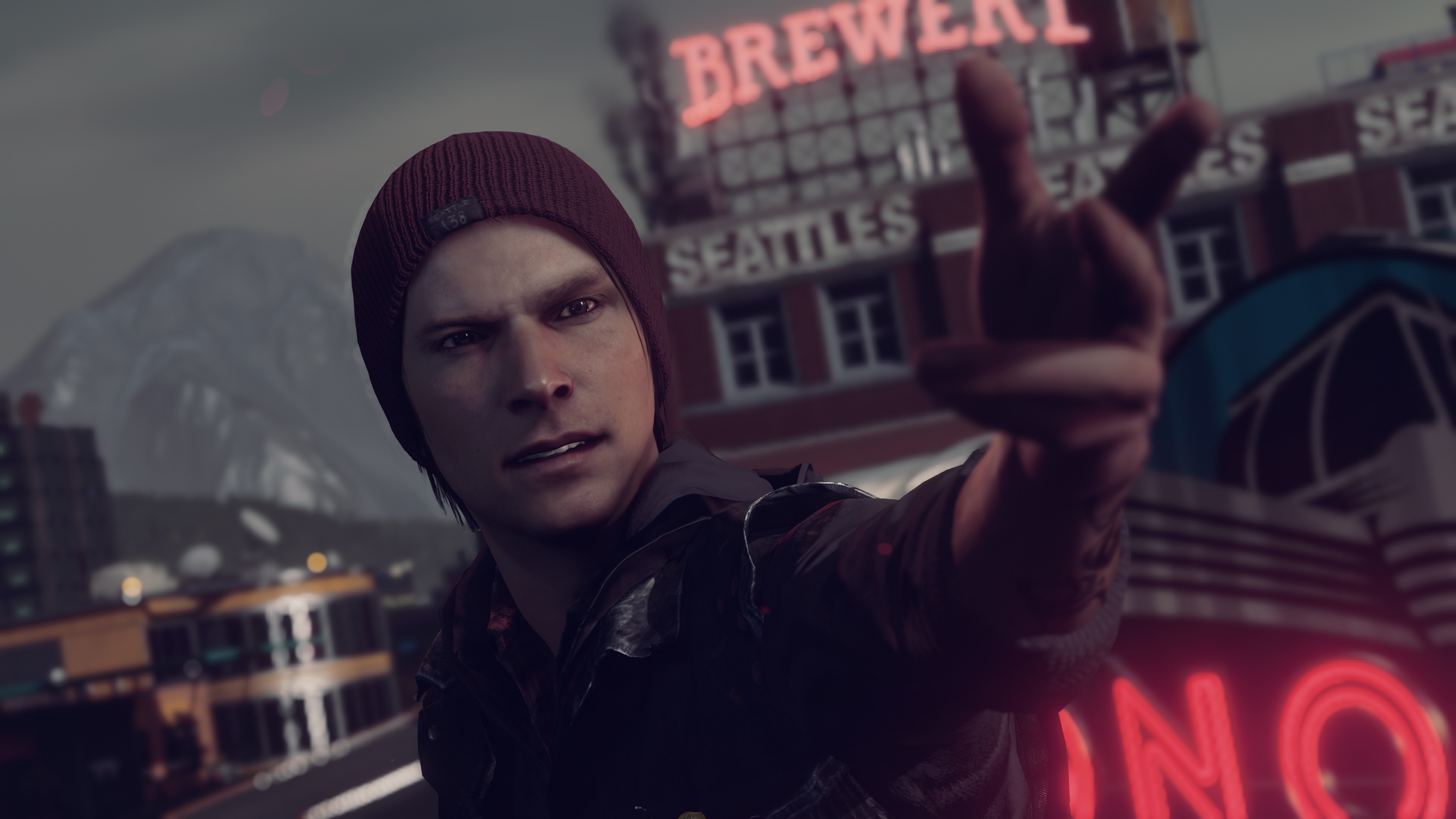 infamous second son wallpaper A1