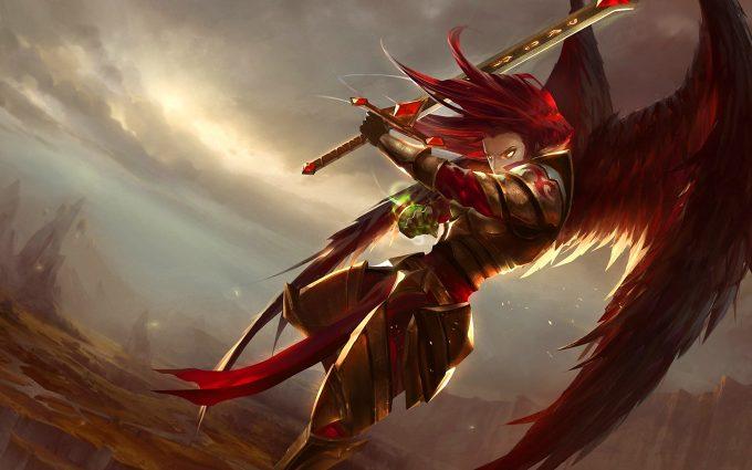 kayle art league of legends