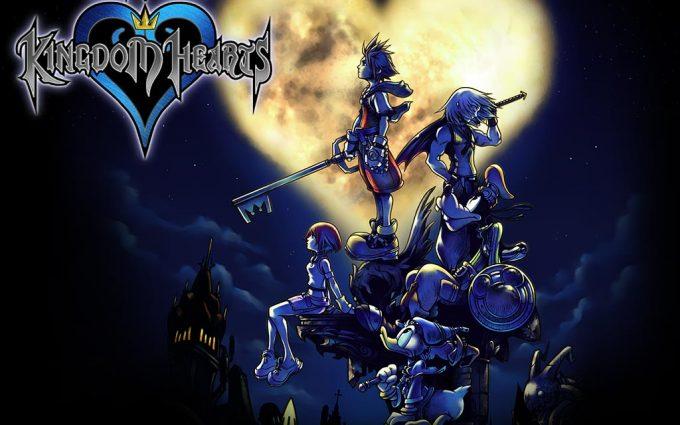 kingdom hearts background 1080p