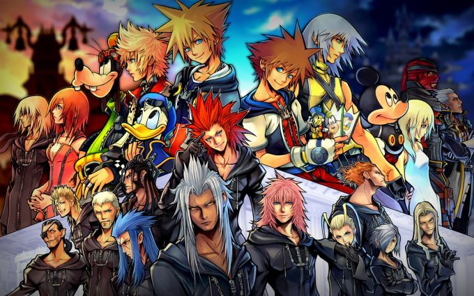 kingdom hearts background A1