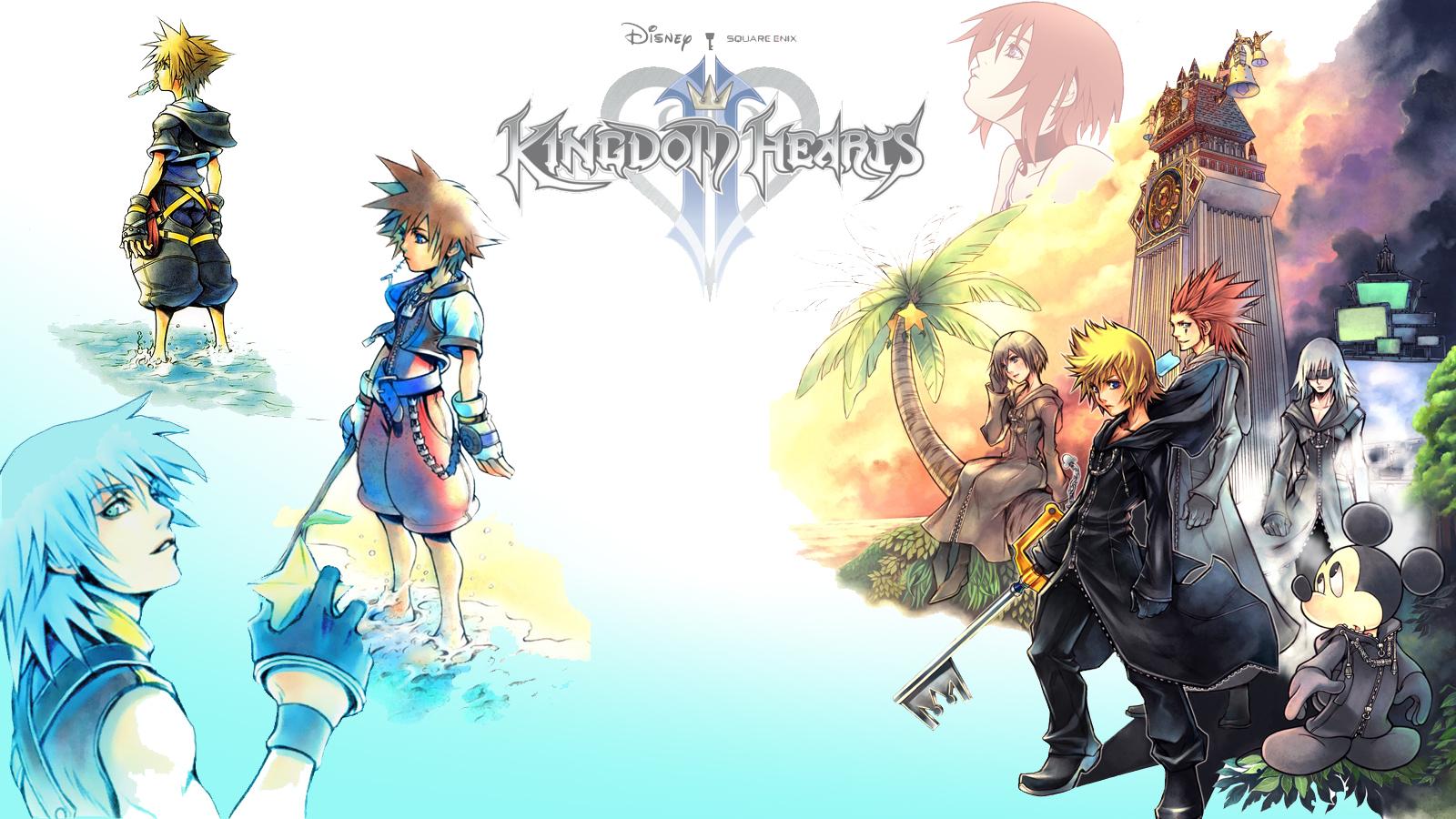 kingdom hearts background A2