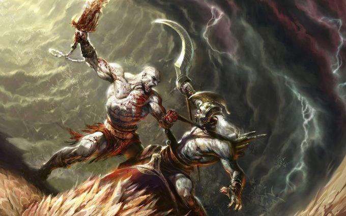 kratos backgrounds