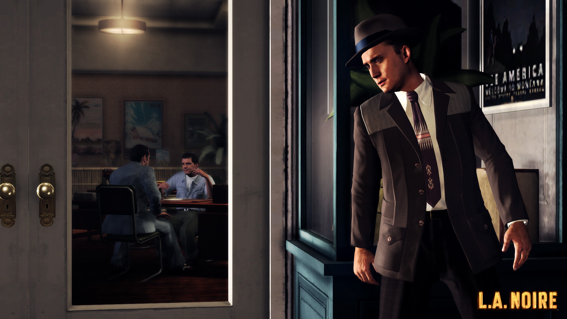 la noire backgrounds