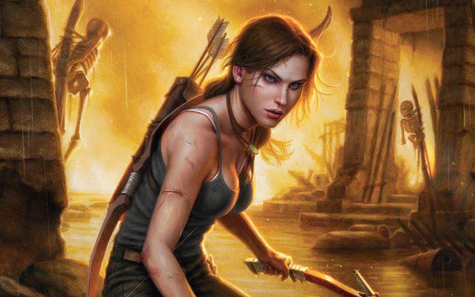 3840x2160 Lara Croft Tomb Raider Artwork 4k Hd 4k: Lara Croft Tomb Raider Hd - HD Desktop Wallpapers