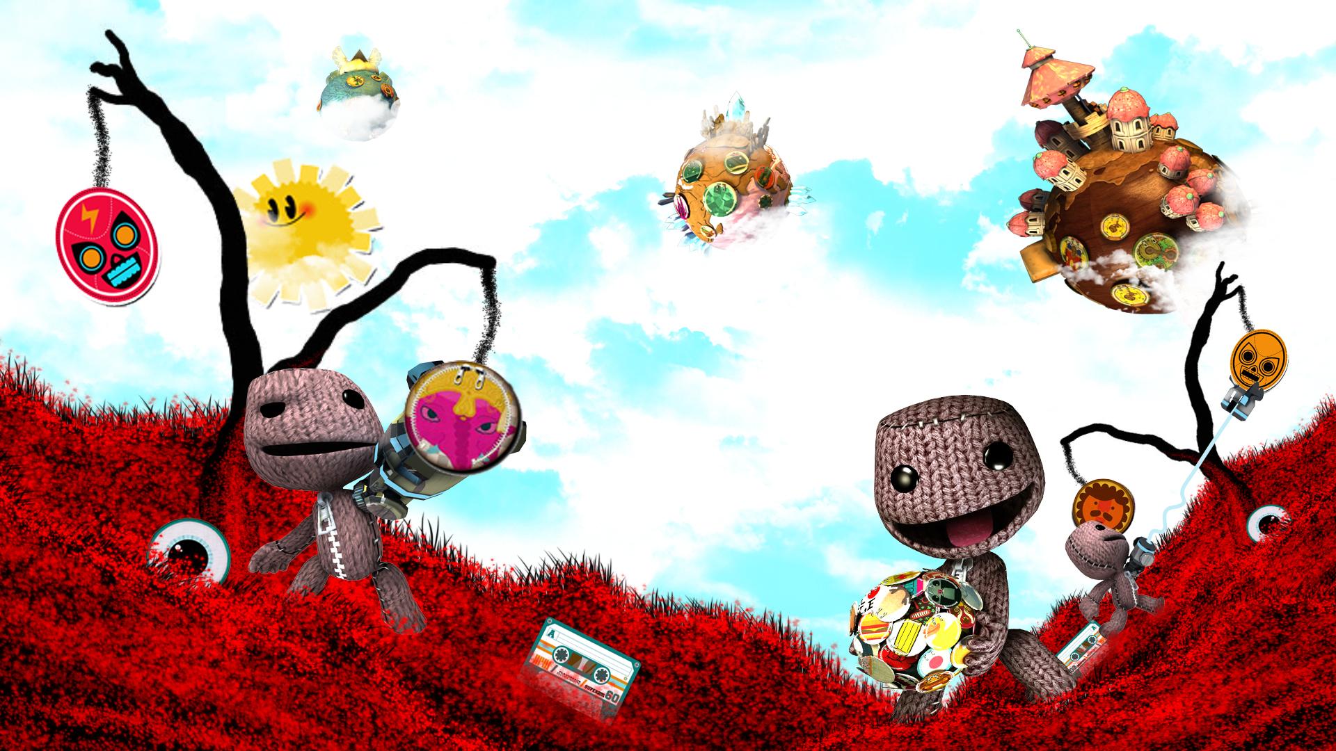 little big planet wallpaper A3