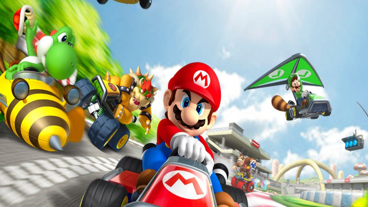 Mario Kart 8 Background: Mario Kart 8 Resolution - HD Desktop Wallpapers