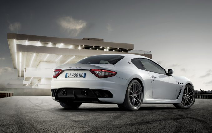 maserati wallpaper white