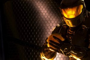 master chief face HD