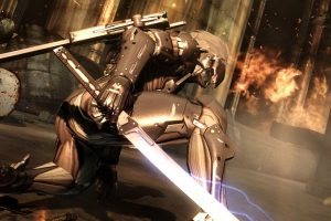 metal gear rising A1