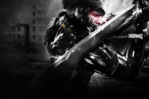 metal gear rising backgrounds A3