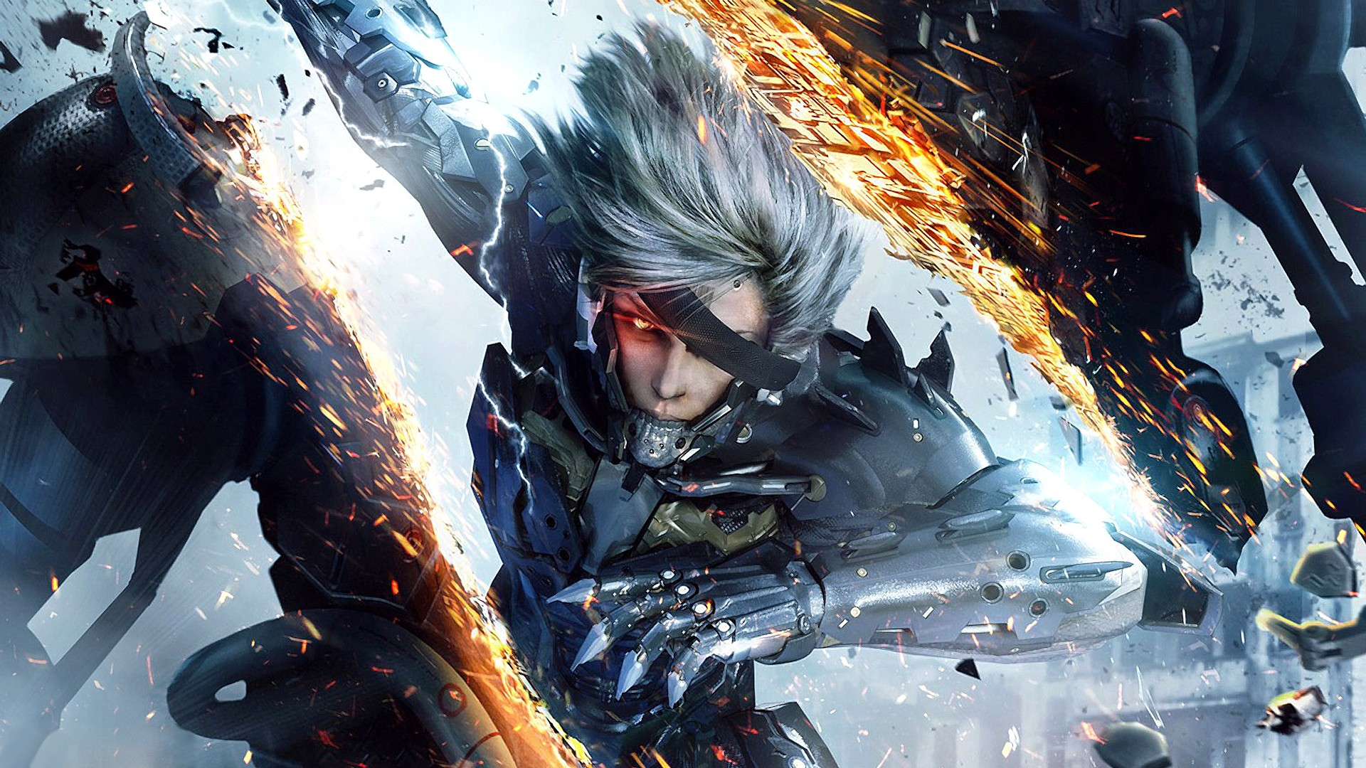 metal gear rising wallpaper A4