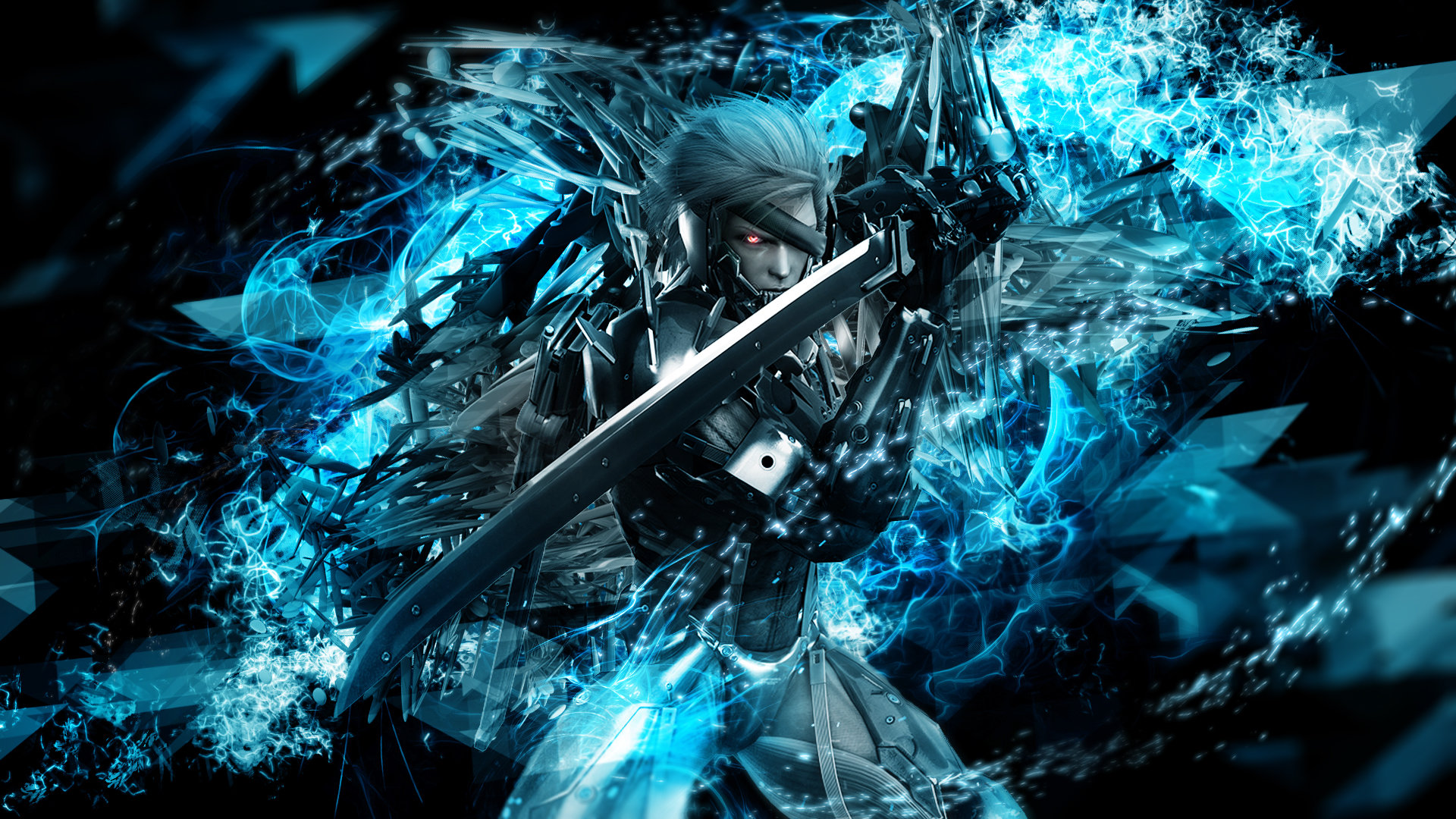 metal gear rising wallpaper A5