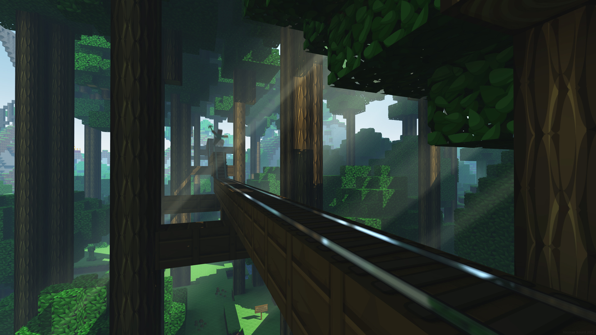 minecraft desktop backgrounds A2