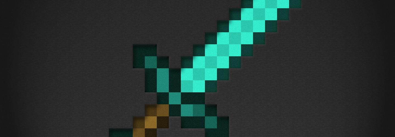 Как сделать меч бога без командного блока