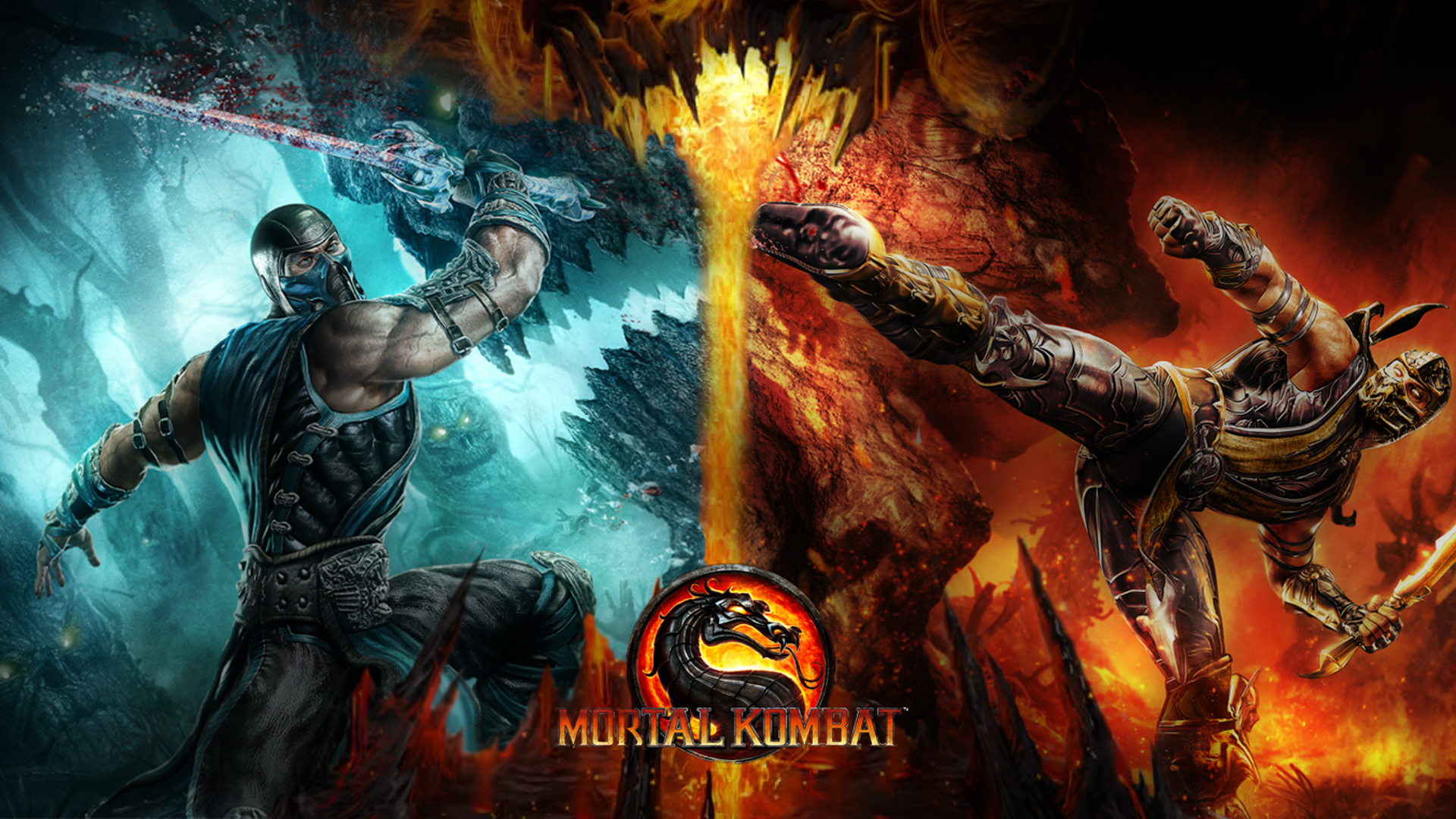 mortal kombat hd wallpaper