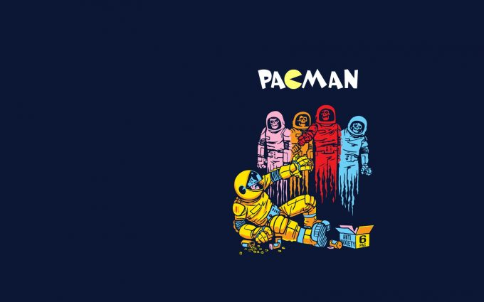 pacman game pictures