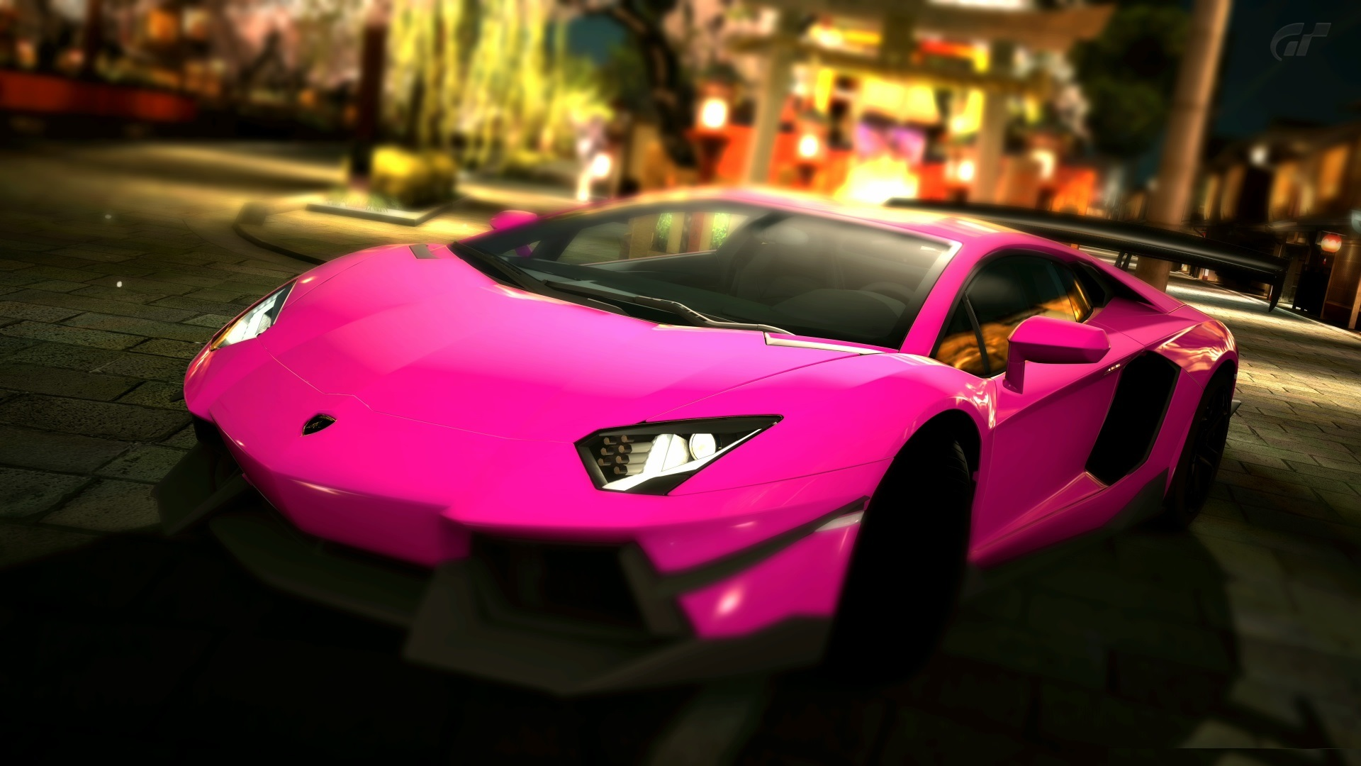 pink car wallpaper