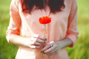 poppy backgrounds girl