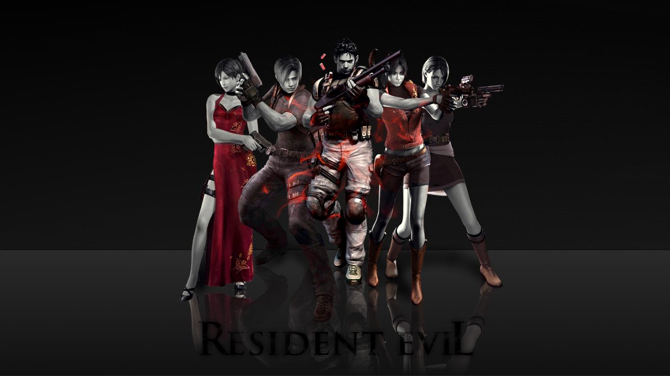 resident evil background