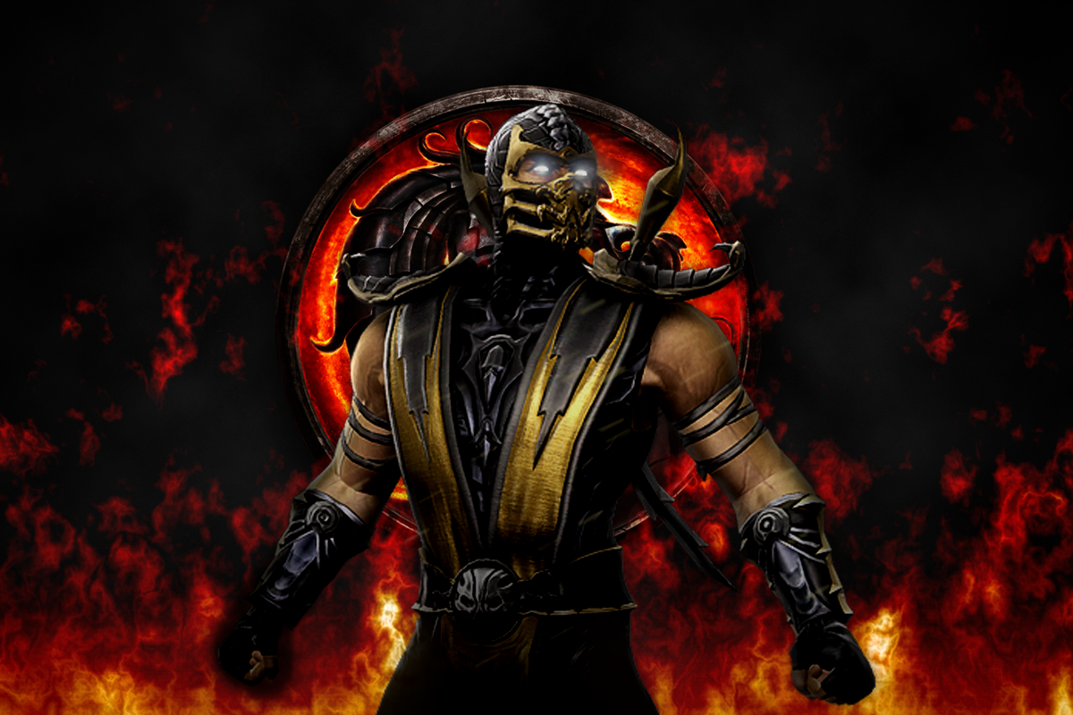 scorpion mortal kombat pictures