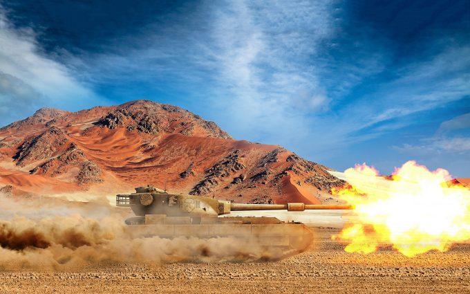 shooting tank