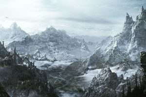 skyrim desktop background