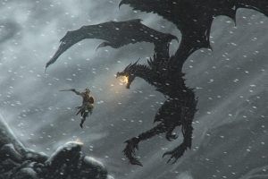 skyrim dragon