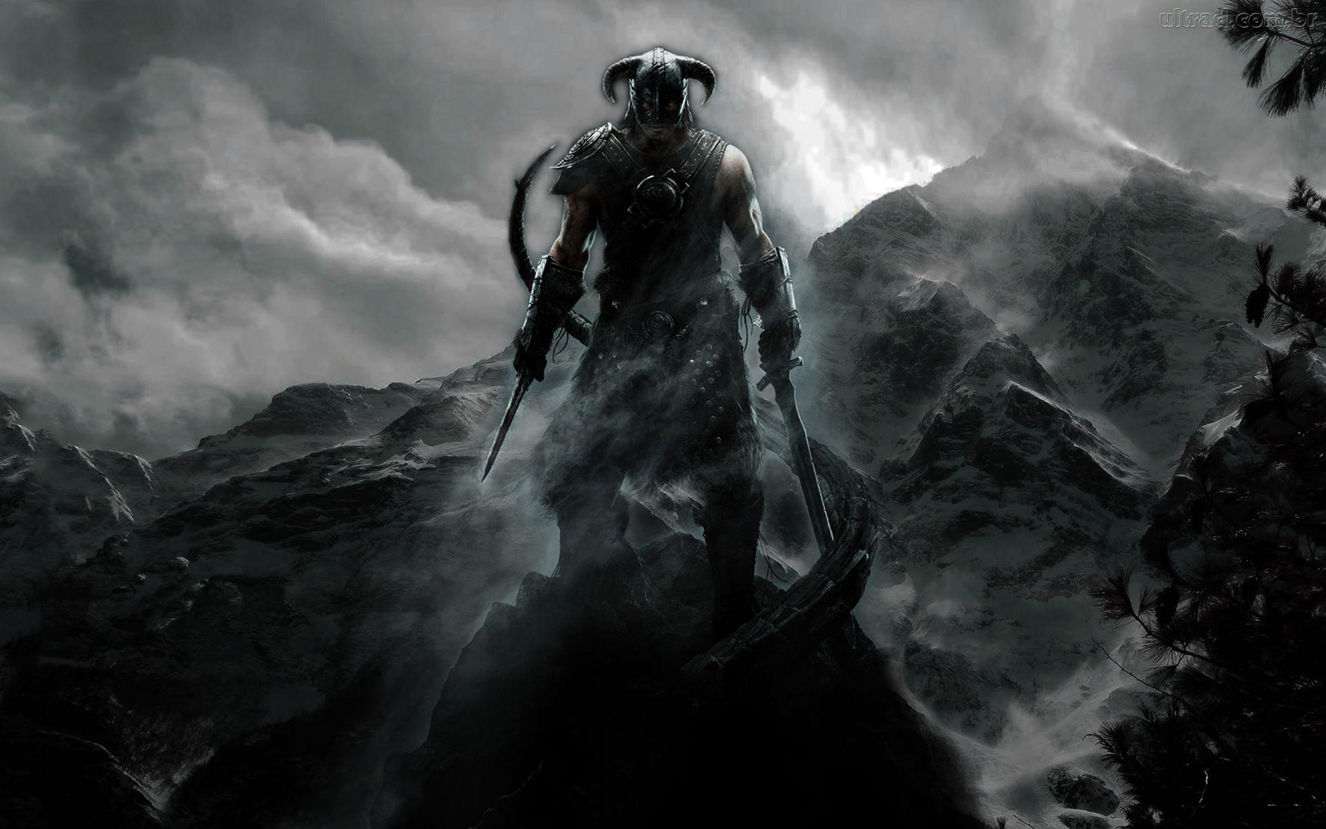 210 The Last Of Us Papéis De Parede Hd: Skyrim Hd Background - HD Desktop Wallpapers