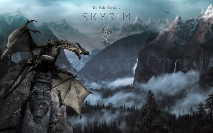 skyrim wallpapers A7