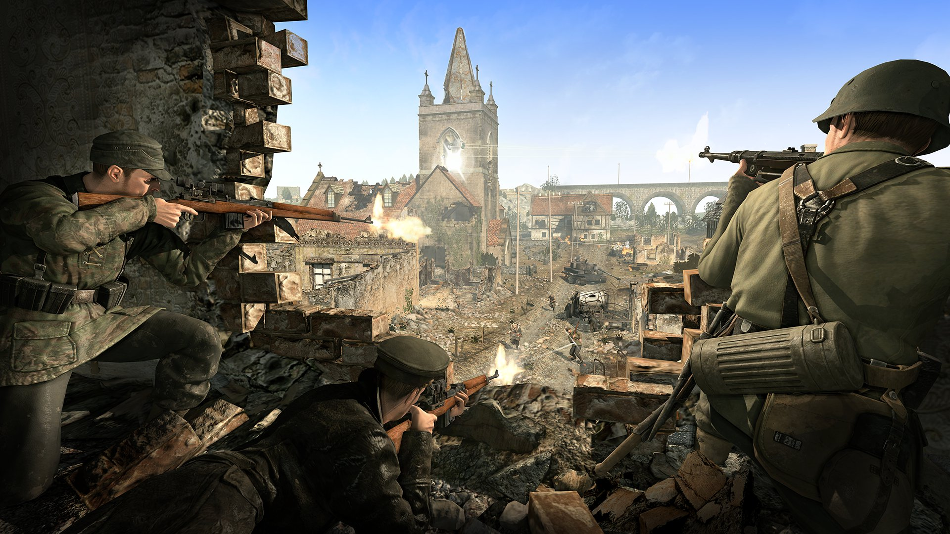 sniper elite backgrounds A4