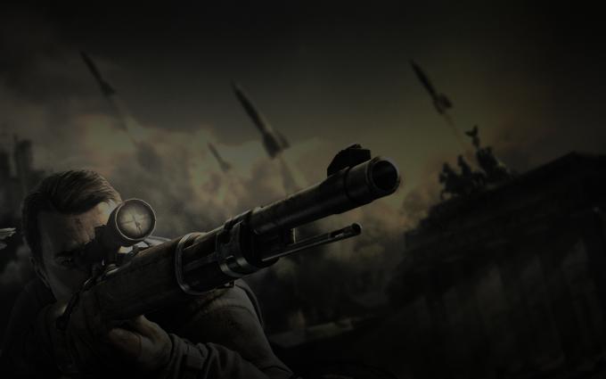 sniper elite wallpaper A1