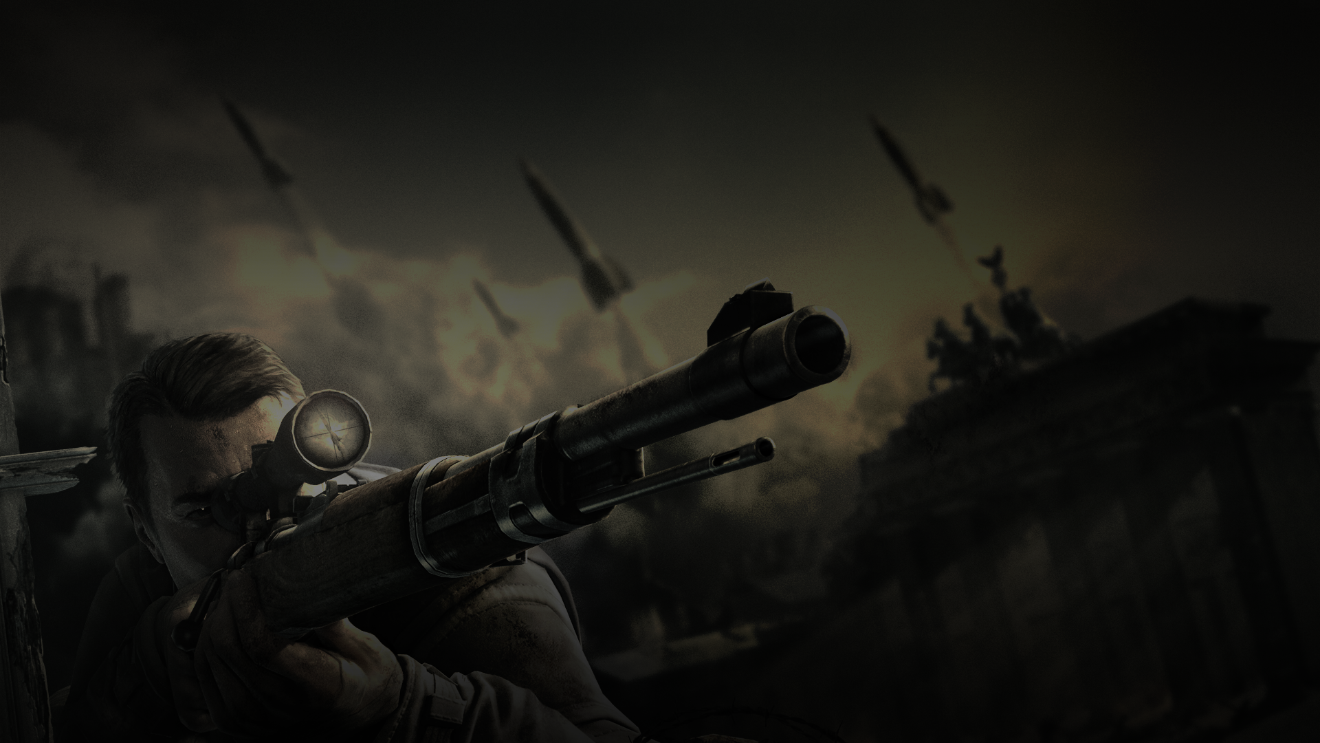 sniper elite wallpaper A1