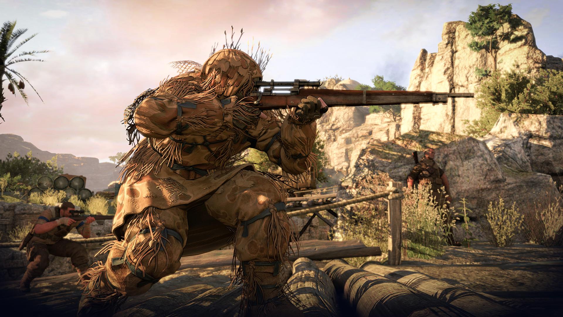 sniper elite wallpaper A2