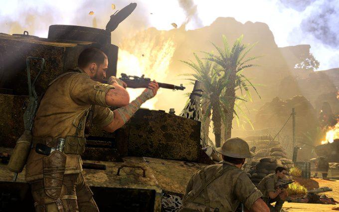 sniper elite wallpapers