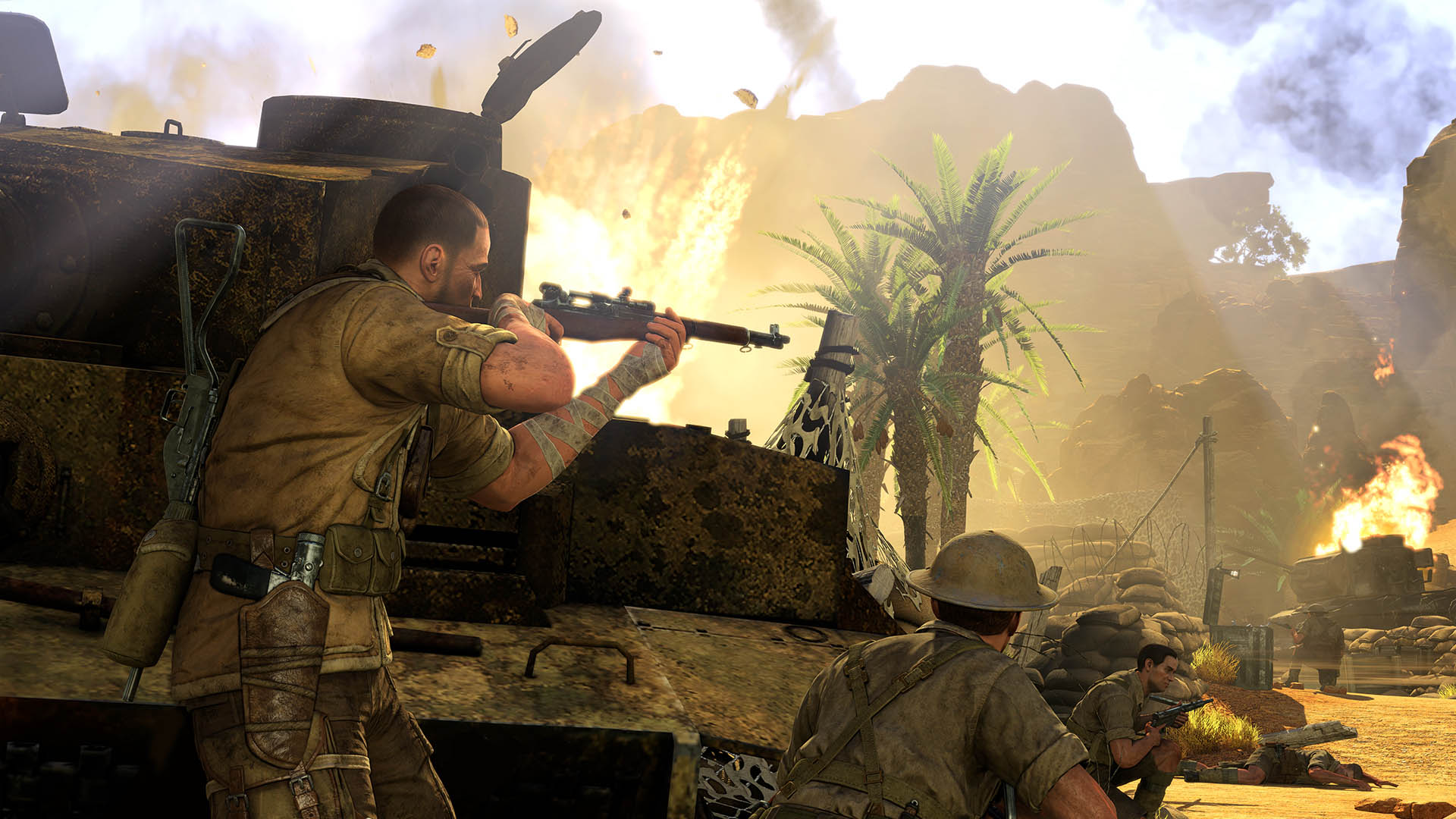 sniper elite wallpapers