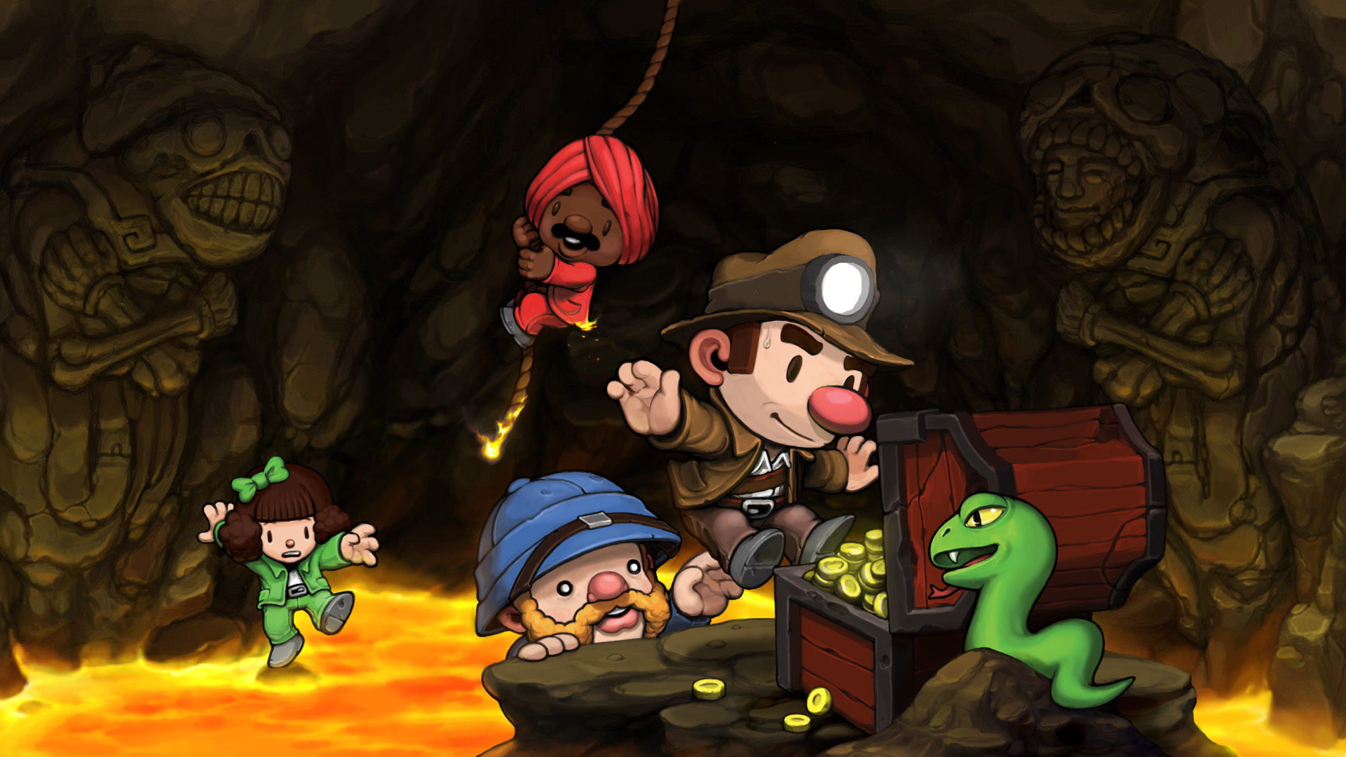 spelunky wallpaper A2